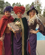 Hocus Pocus The Sanderson Sisters Homemade Costume
