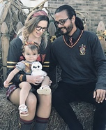 Hogwarts Family Homemade Costume