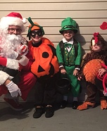 Holiday Family Homemade Costume