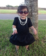 Holly Golightly from Breakfast at Tiffany's Homemade Costume