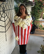 Home Made Popcorn Homemade Costume