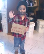 Homeless Costume