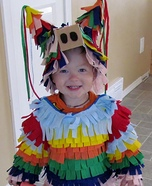 Creative homemade costumes for babies - DIY Pinata Costume