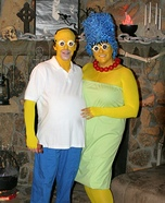 Homer & Marge Simpson Costumes