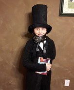 Honest Abe Homemade Costume