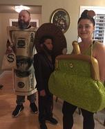 Honest Abe & Family Homemade Costume