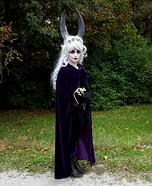 Horned Witch Homemade Costume