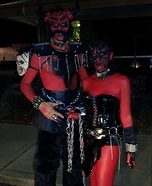 Horny Beast and Demon Dominatrix Costume