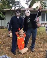 Horror Movies Family Homemade Costume