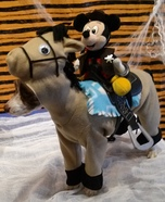 Horse Ridding Mickey Homemade Costume for Dogs
