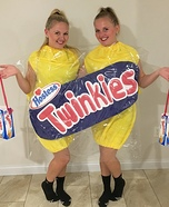 Hostess Twinkies Homemade Costume