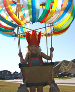 Homemade Hot Air Balloon Costume