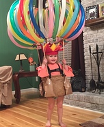 Hot Air Balloon Baby Costume