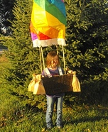 DIY Hot Air Balloon Child Costume