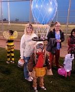 Hot Air Balloon Pilot Homemade Costume