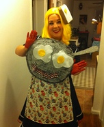 Creative DIY Costume Ideas for Women - Hot Breakfast Halloween Costume Idea for Women