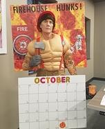 Hot Fireman Calendar Homemade Costume