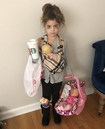 Hot Mess Mom Homemade Costume