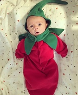 Hot Pepper Baby Homemade Costume