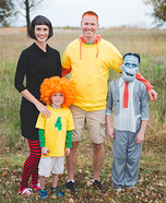 Hotel Transylvania 2 Family Homemade Costume
