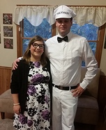 Pregnant couples costume ideas - Housewife and the Milkman Costume