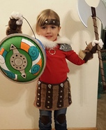 How to Train Your Dragon Astrid Homemade Costume