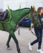 How to turn a Horse into a Dragon Costume