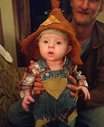 HuckleBaby Finn Homemade Costume