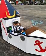 Hudson the Sailor Homemade Costume