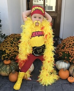 Hulk Hogan Homemade Costume