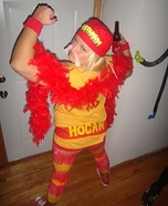 Creative DIY Costume Ideas for Women - Hulk Hogan Costume