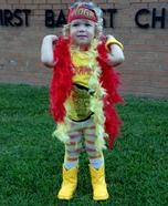 Hulk Hogan Baby Homemade Costume