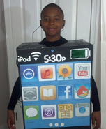 Human Apple iPod Touch Costume