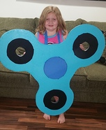 Human Fidget Spinner Homemade Costume
