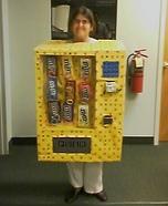 Human M&M Candy Vending Machine Homemade Costume