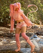 Human Pokemon Mew Homemade Costume