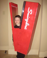 Homemade Human Stapler Costume