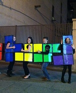 Group costume ideas - Tetris Group Costume