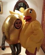 Humpty Alexander Dumpty Golden Egg Costume