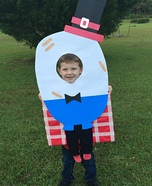 Humpty Dumpty Homemade Costume