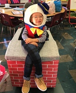 Humpty Dumpty and The Kong's Horses Homemade Costume