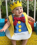 Humpty Dumpty Baby Homemade Costume