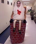 Illusion costume ideas - Humpty Dumpty Costume