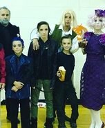 Hunger Games Family Homemade Costume