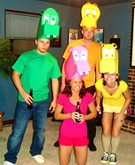 Hungry Hungry Hippos Costumes
