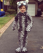 Hungry White Tiger Homemade Costume