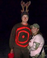 Hunter and Deer Homemade Couple Costume