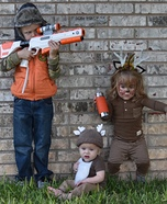 Hunter and Deer Kids Costume