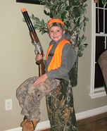 Hunter in a Tree Stand Homemade Costume