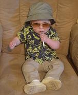 Hunter S. Thompson Baby Homemade Costume